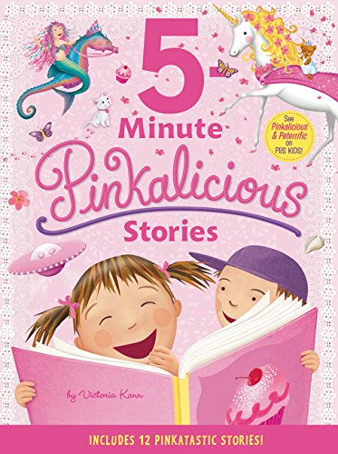 Pinkalicious: 5-Minute Pinkalicious Stories: Includes 12 Pinkatastic Stories!