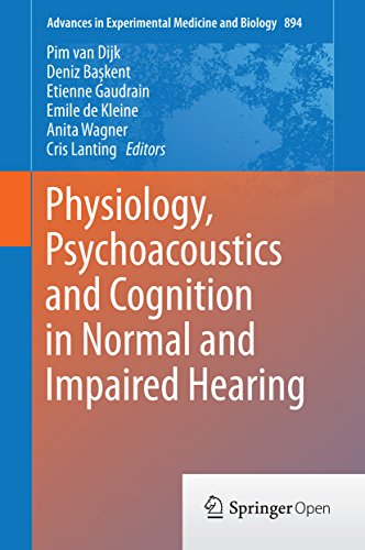 Physiology, Psychoacoustics and Cognition in Normal and Impaired Hearing (Advances in Experimental M