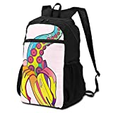 CHENWE Bananacle Foldable Travel Backpack Casual Backpack, Student Bag Travel Storage Bag