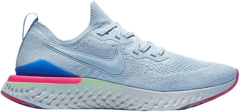 Nike Nike Epic React Flyknit 2 damen R - hydrogen Blau hydrogen Blau-sapphir, Gre 9.5