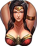 Wonder Woman Sexy Comic Book Superhero Oppai 3D Gaming Wrist Rest