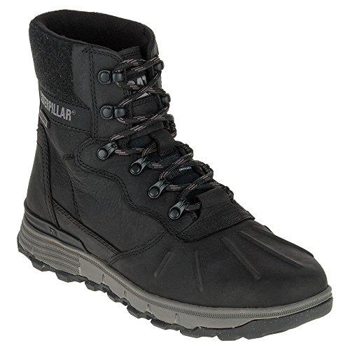 Caterpillar STICTION HI ICE+W Waterproof Men's Insulated Black Leather Boot