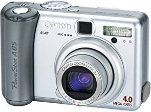 Canon PowerShot A85 4MP Digital Camera with 3x Optical Zoom (OLD MODEL)