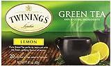 Twinings Tea Lemon Green Tea, 20 ct