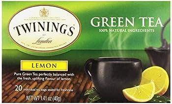 Twinings Tea Lemon Green Tea 20 ct