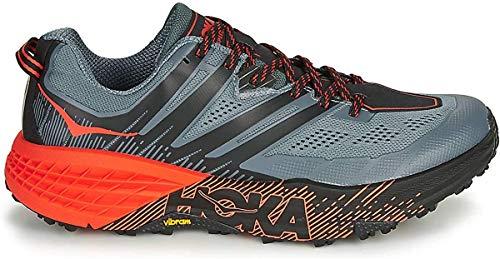 HOKA ONE One Speedgoat 3 Deportivas Hommes Gris/Naranja Running/Trail