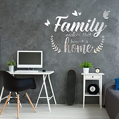 3d mirror wall decal _image2