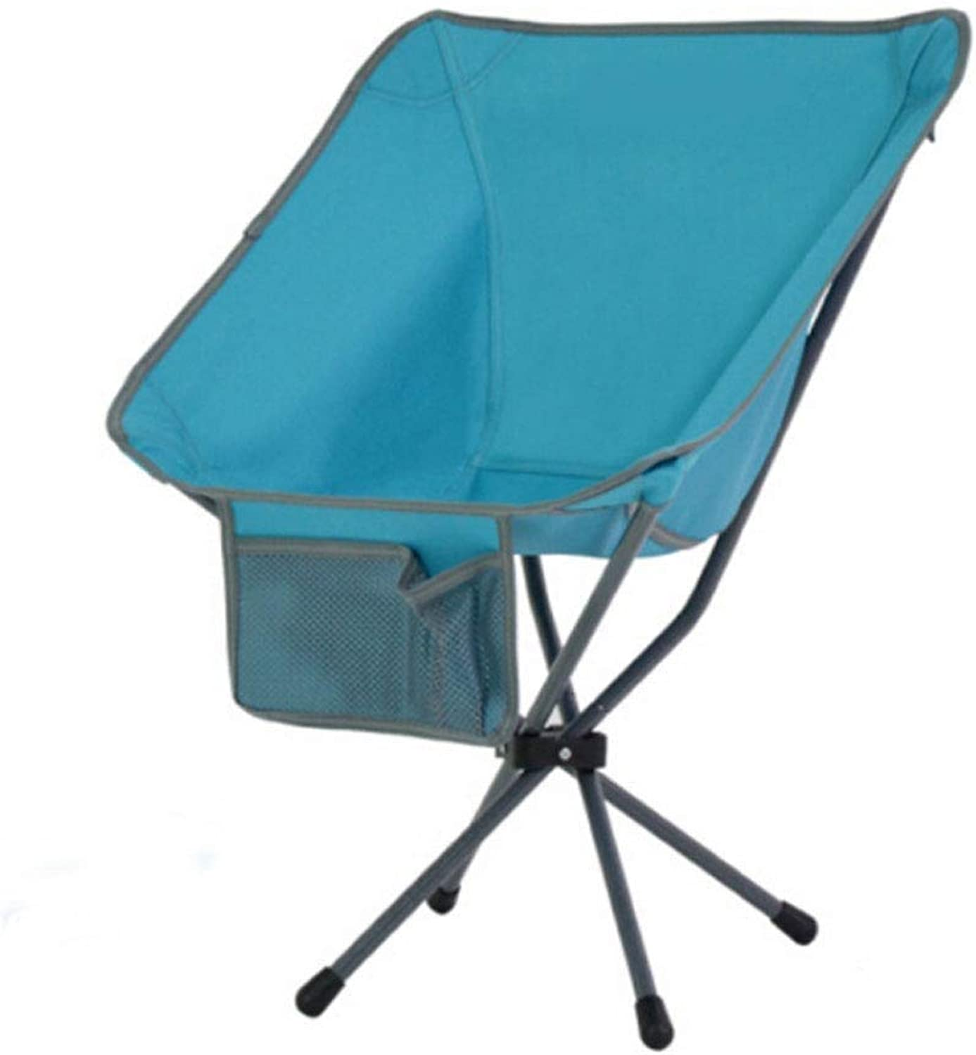 Creative Outdoor Portable Folding Chair Camping Stool with Backrest Storage Bag Indoor Picnic Travel Fishing Mountaineering Barbecue Park Adventure Beach 2 colors Optional