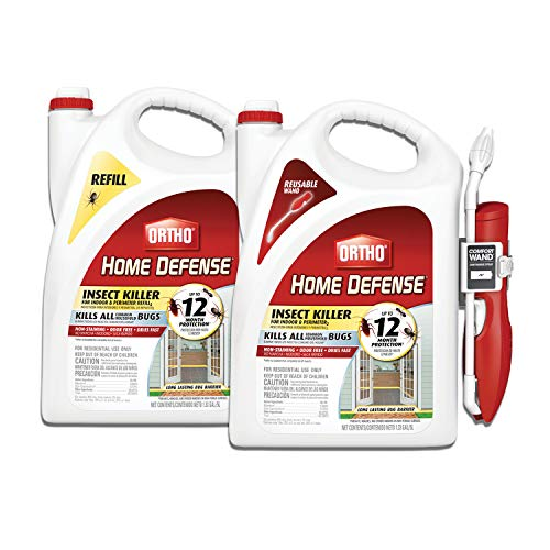 Ortho VB00029 Home Defense Insect Killer for Indoor & Perimeter2 and Refill Bundle, 2 Pack