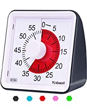 Yunbaoit Visuele Analoge Timer,Stille Countdown Clock, Time Management Tool voor kinderen en volwassenen