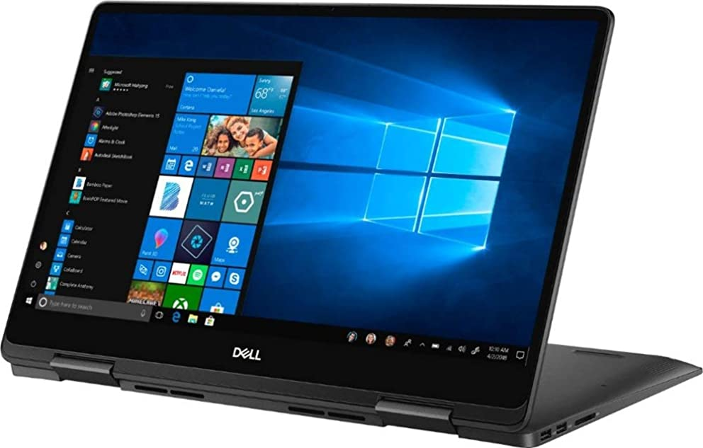 Premium 2019 Dell Inspiron 15 7000 15.6 2-in-1 UHD 4K IPS Touchscreen Business Laptop Intel 4-Core i7-8565U 16GB RAM 512GB PCIe SSD 2GB GeForce MX150 Backlit KB Pen USB-C Win 10