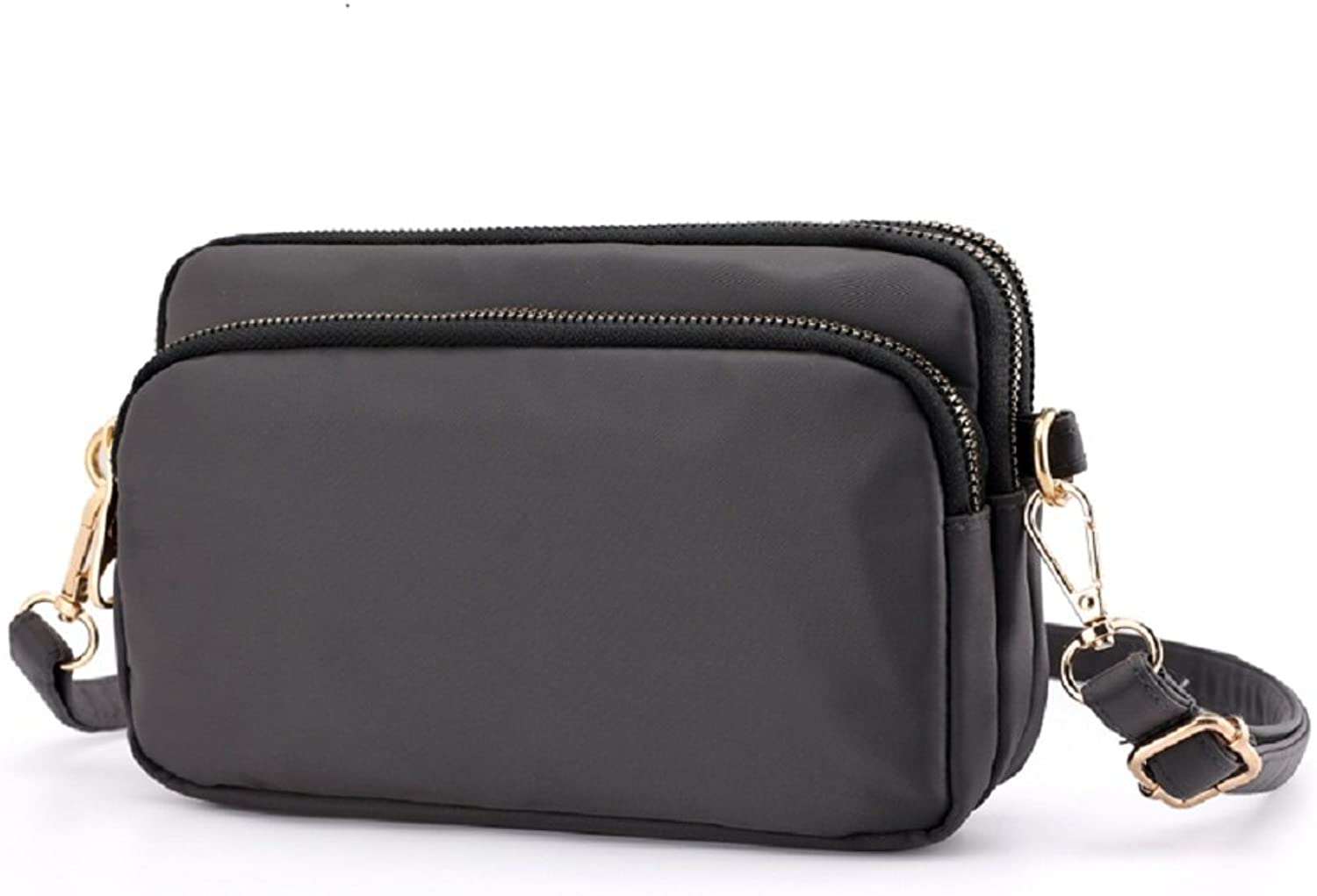 Small Crossbody Shoulder Bag Waterproof Nylon Strap Cell Phone Wallets Travel Purse For Women