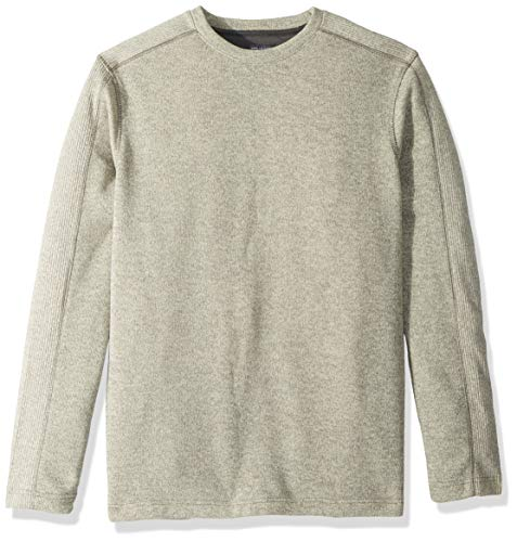 Van Heusen Herren Big and Tall Flex Sweater Fleece Crew Sweatshirt, Silberne Birke, Large Hoch