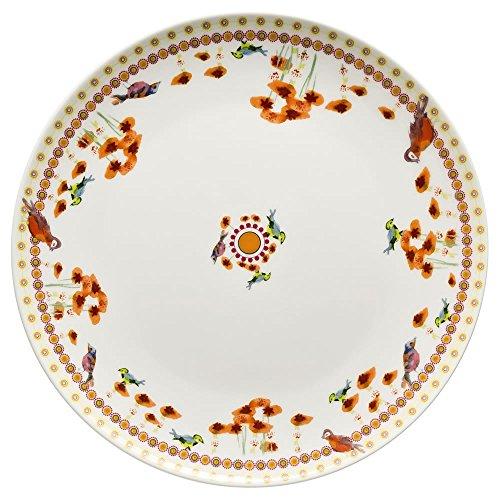 Hutschenreuther 02471-725758-10862 Lots of Dots Piatti Piani Paradise 22 cm, Arancione