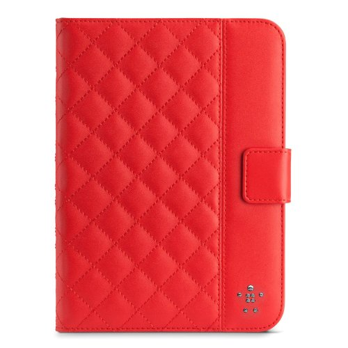 Belkin F7N007tt Red Case for Tablets (Cover, Apple, iPad Mini, Red)