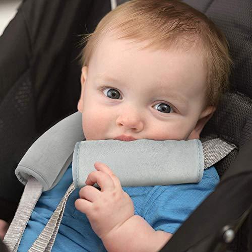Anoopsyche Weiche Schulterpolster Geeignet für Rucksack, Sicherheitsgurtpolster für Kinder, Computertasche, Haltungskorrektur Achselschutz, Verstellbarer Kinderwagen-Gurtpolster Dekompression