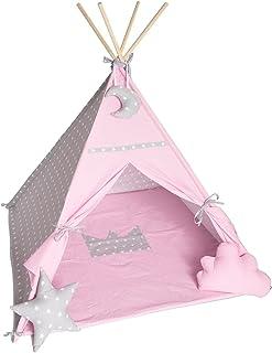 Skapa ditt eget tipi-tält i olika färger och mönster 125 x 150 cm