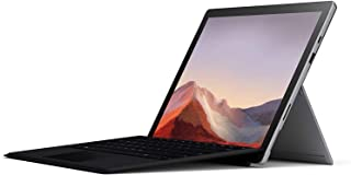 Microsoft Surface Pro 7 Intel Quad Core i5 10th Gen I5-1035G4, 8GB, 256GB SSD, 12.3-2736 x 1824, 2 Front Camera 5.0 MP, Bl...