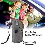 RecoverLOVE Calentador de biberones USB Calentador de Calor Caliente, Calentador de Leche portátil, Calentador de biberones para bebés Bolsa de café Taza de té Bolsa de Calentamiento de Bebidas