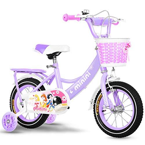 Bueuwe Kinderfahrrad, Junges Mädchens Fahrrad, Leichte Mountainbikes Im Freien Beweglichen Bicyclette 12
