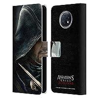 Head Case Designs オフィシャル ライセンス商品 Assassin's Creed Ezio リベレーション・キーアート Xiaomi Redmi Note 9T 5G 専用レザーブックウォレット カバーケース