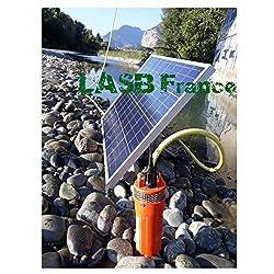 Pumpe: Material mit hoher Widerstandsfähigkeit, Kunststoff, aus Edelstahl; Spannung: 12 V; Strom: max. 8,0 m; maximale Durchflussmenge: 6l/minut; maximale Tiefe: 70 m; maximale Tauchtiefe: 30 m; Rohrdurchmesser: ca. 1/2 Zoll; Größe: ca. 26,5 x 10,5 c...