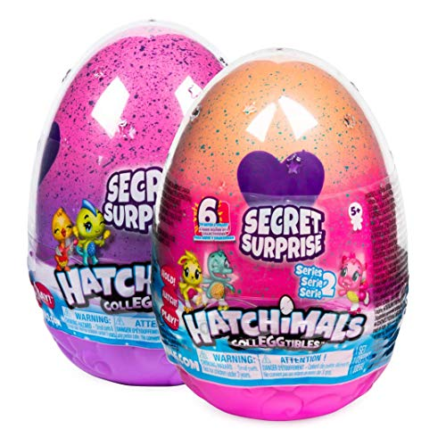 Hatchimals 6047125 CollEGGtibles Secret Surprise Spielset mit 3 exklusiven - Figuren (6 verschiedene Sets)