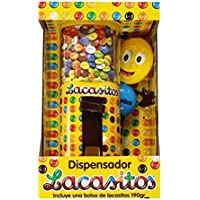Lacasitos - Dispensador, Contiene bolsa de Lacasitos de 150 gr
