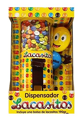 Lacasitos - Dispensador, Contiene bolsa de Lacasitos de 150