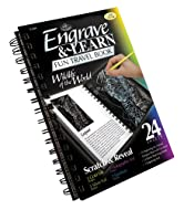Complete engraving art book focused on wildlife of the world, ideal for any age artist Constructed with Quality artist board and Professional artist materials Set Includes1 , spiral-bound book, with 12 pages of preprinted designs, 12 blank sketching ...