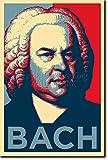 TPCK Johann Sebastian Bach Kunstdruck (Obama Hope Parodie)