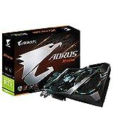 Gigabyte AORUS GeForce RTX 2080 Ti Xtreme 11G Graphics Card, 3X Stacked Windforce Fans, 11GB 352-bit GDDR6,...