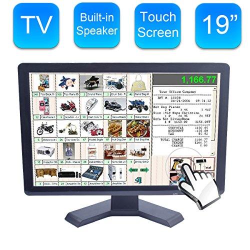 Alta Resolución 19 Pulgadas Pantalla Incorporada LED Pantalla Táctil - 1440x900 Resolution VGA para PC/POS