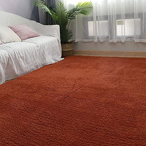 Prasacco Alfombra antideslizante decoración de la sala de estar decorar durable suave mesa de té...
