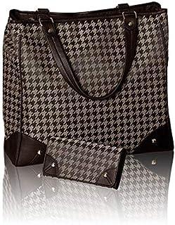 Oriflame Bag For Women,Brown & Gold - Hobos