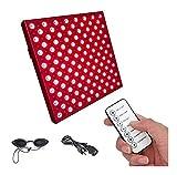Red Red Lichttherapiegeräte Deep Red 660nm und 850nm Nah-Infrarot-LED Lichttherapie Panel for Gesichts-Haut, Körperschmerzlinderung, Füße Muskelregeneration 45W 914