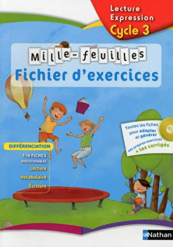 By Christian Demongin Lecture Expression Cycle 3 Mille Feuilles Fichier Dexercices 1cederom Lire Pdf