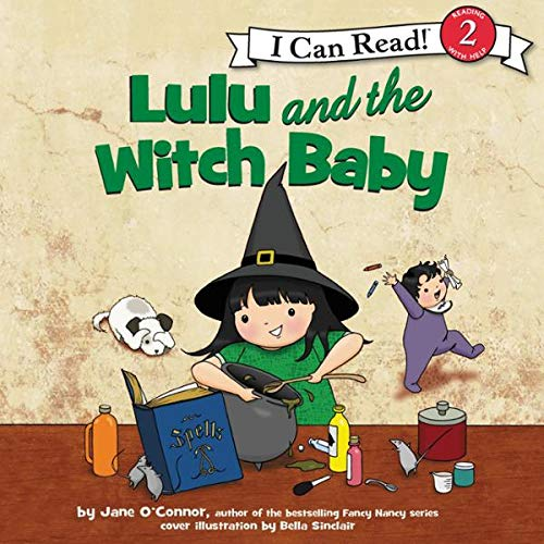 Lulu and the Witch Baby cover art