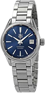 Tag Heuer Carrera Calibre 9 Automatic Blue Dial Ladies Watch WAR2419.BA0776