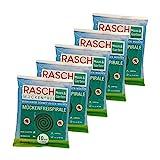 Rasch Mückenfreispirale- 5 x 10 Stück Spar-Set - Gegen Mücken im Außenbereich (bis zu 200 Stunden)