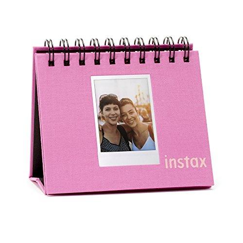 Fujifilm Instax La Porta Mini-Fotoalbum (aufklappbar), Flamingo pink
