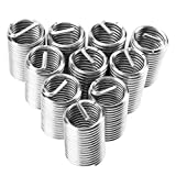 M18 Coiled Wire Thread Inserts Stainless Steel SS304 Helical Screw Thread Repair Insert Hole Repair Tool(10PCS(M18*2.5 * 2.5D))