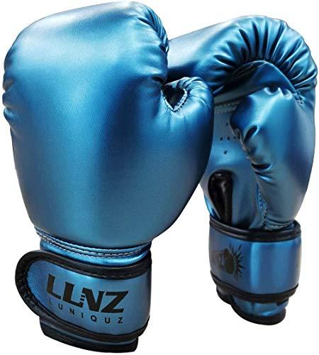Luniquz Boxhandschuhe für Kinder Boxsack Sparring Fit Jungen Mädchen