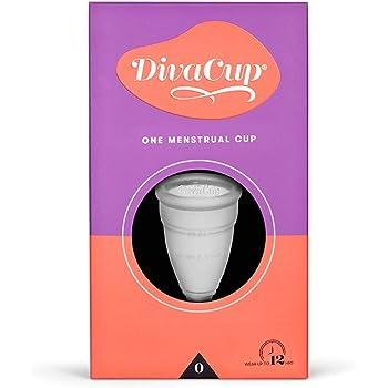 DivaCup - Menstrual Cup - Feminine Hygiene - Leak-Free - BPA Free - Model 0