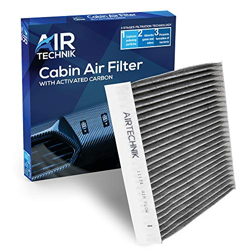 AirTechnik CF11174 Cabin Air Filter w/Activated Carbon   Fits Ford Fusion 2010-2012 / Lincoln MKZ 2010-2012 / Mercury Milan 2010-2011
