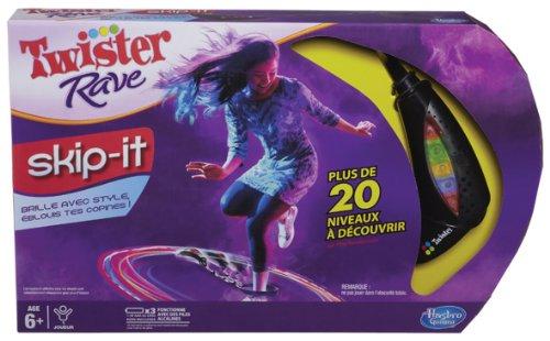 Hasbro - A20371010 - Jeu d'action et de Réflexe - Twister Rave - Skip It