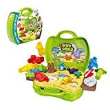 Clay Dinosaur Toys Set for Kids - Magic Modeling Clay 26 Pieces - Safe...
