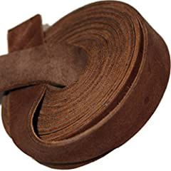 The performance of your 72 inch by ¾ inch wide cowhide strip is just as important as it's visual appeal You can purchase the most durable strips that are designed for performance and are tanned for active use and superior strength and durability Genu...