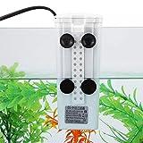 Voluxe Filtro de agua bajo para acuario con colgador interno para reptiles para tanque de peces en miniatura