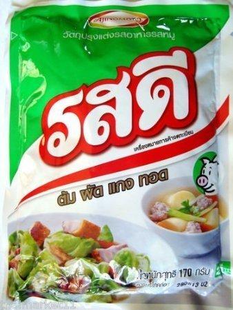 Rosdee Chicken Flavour Allinone Original Thai Cook Seasoning Powder 170g/6oz